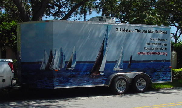 Dave Humble's Custom Boat Trailer Design